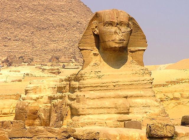 Esfinge de Gizeh (El Cairo, Egipto)