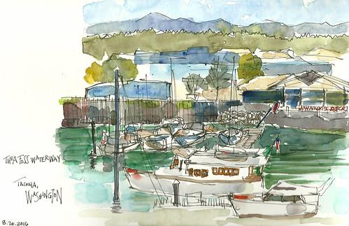 Thea Foss Waterway, Tacoma, WA
