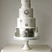 1920's Inspired Wedding Cake