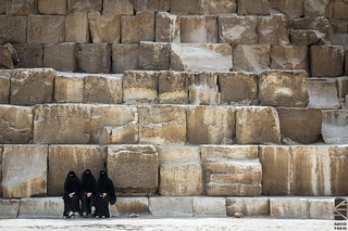 Three Women, One Great Pyramid | by David Freid