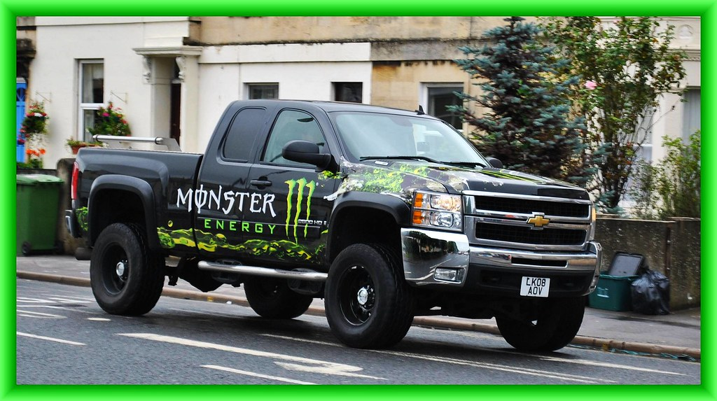 New Chevy Trucks >> Chevrolet Silver 800 Monster Energy Pick Up import | Flickr