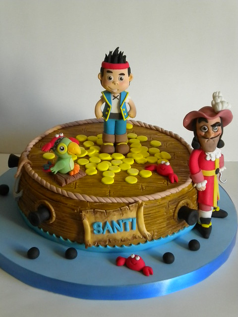 Motivos de tortas infantiles de jake y los piratas del pais de ...