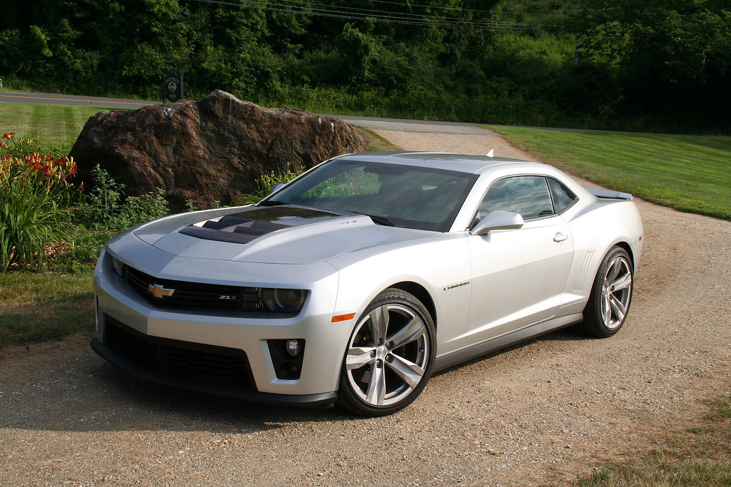 2012 Chevrolet Camaro Zl1 It S Big And Loud And Fast