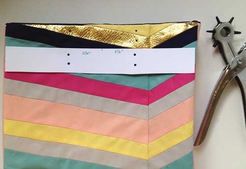 Art-Inspired Chevron Tote Bag 17 | by fabricpaperglue