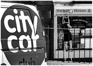 City Car - Yummy House - London Street Bath - July 2012 | by David Lewis-Baker