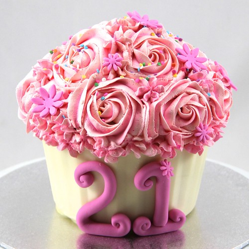 Giant cupcake | by Coco Jo Cake Design