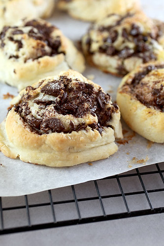 Chocolate swirl biscuits | by Bakerella