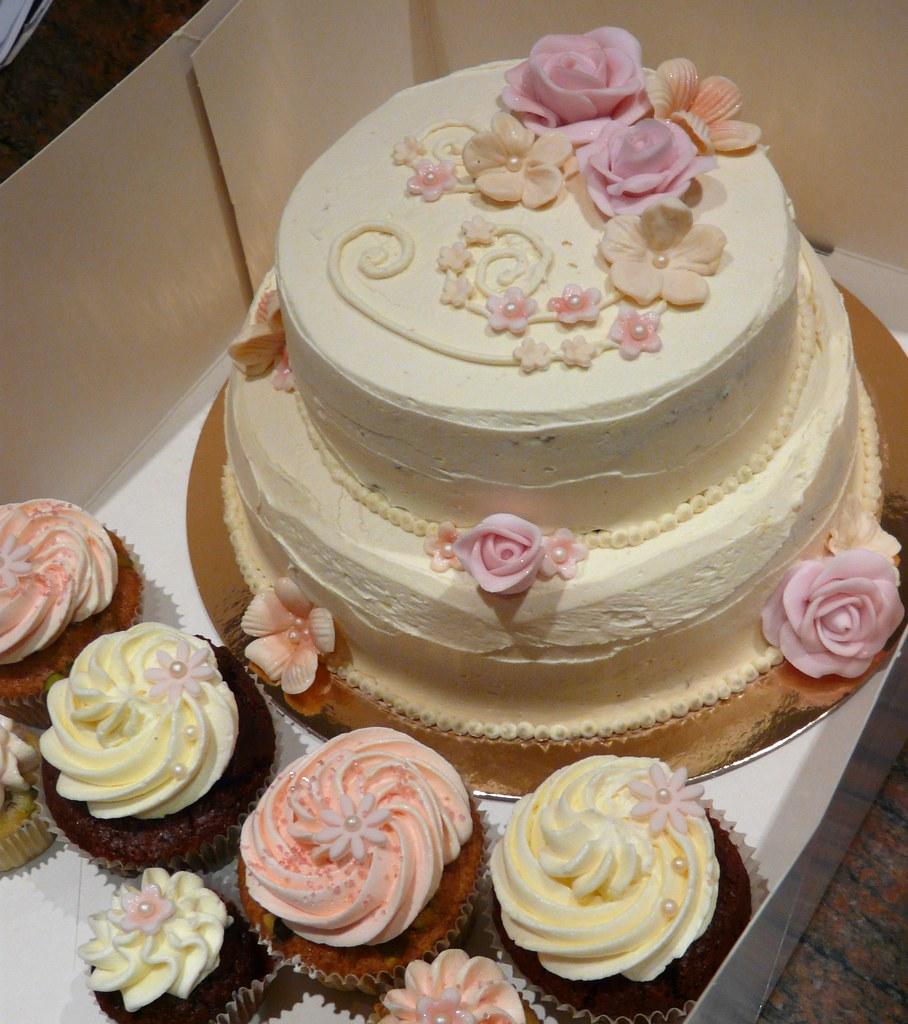 Rapture Wedding Cake & A Small