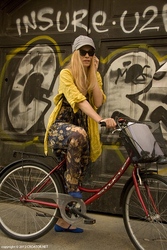 Floral and Yellow Cycling With Pointy Cobalt | by CROATOR.NET