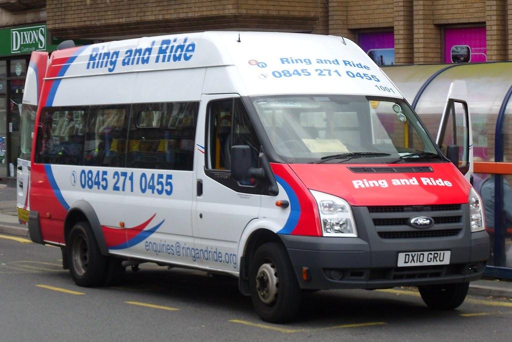 Ring And Ride Ford Transit 1001 Dx10 Gru Bridge Street