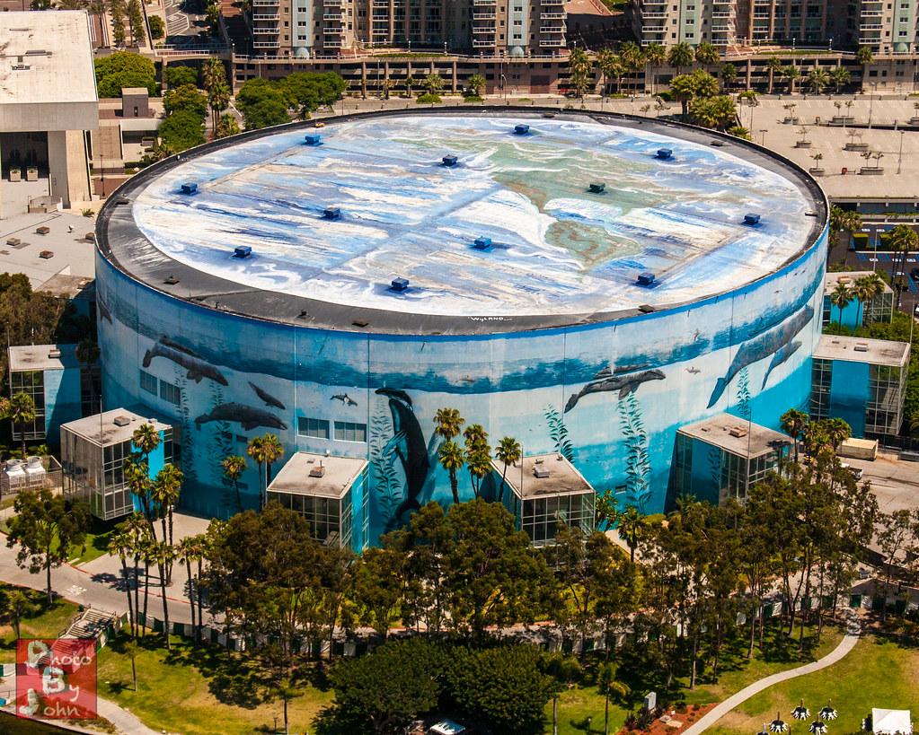Long Beach Arena Mural