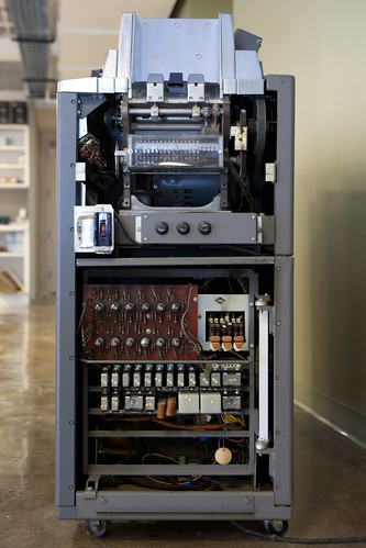 IBM 83 card sorter, logic side view | by hudson
