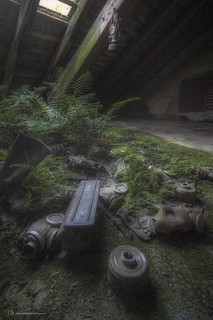 [ gas masks graveyard ] | by shexbeer