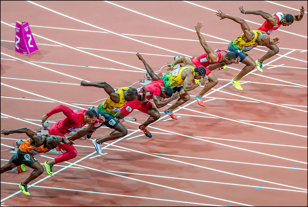London Olympics 2012 - Mens 100m Final ( Usain Bolt ) | Flickr