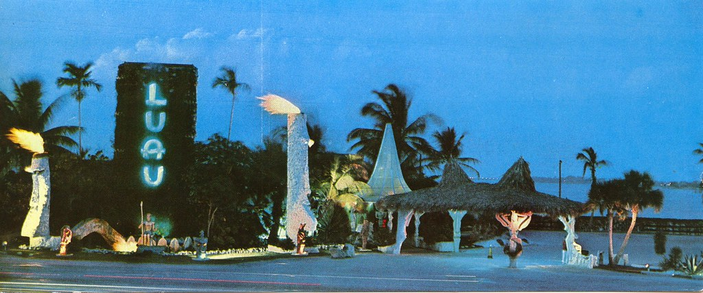 Luau Restaurant Miami Beach Florida First And Finest Flickr