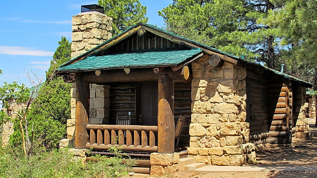 Grand Canyon Lodge Cabin North Rim One Of The Rustic