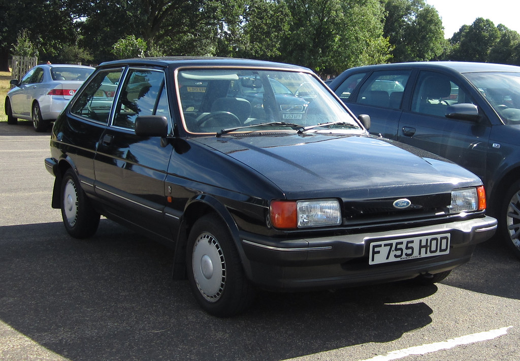 1988 ford fiesta ghia 1 4 4spd thats the cleanest fiesta i flickr. Black Bedroom Furniture Sets. Home Design Ideas