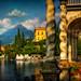 Along the lake - Rich detail along Lake Como in Italy