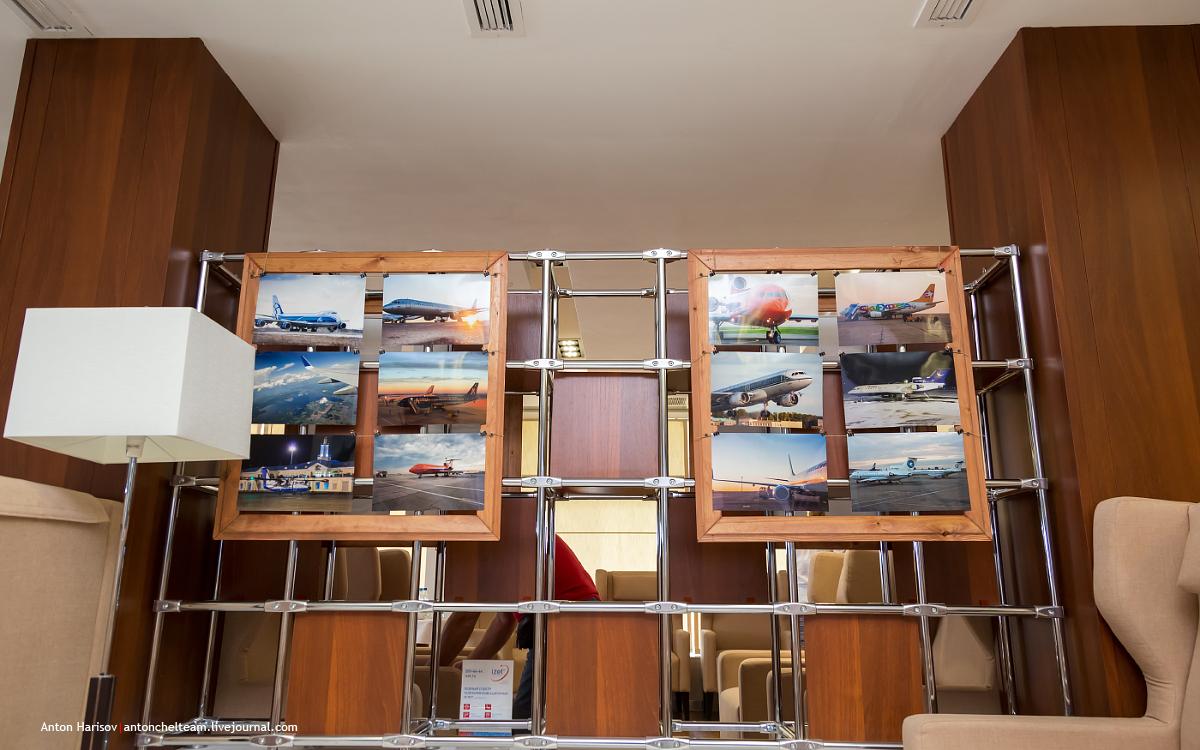 Открытие фотовыставки в бизнес-зале Аэропорта Челябинск
