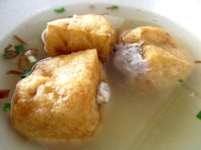 Hakka Yong Tau Foo stuffed tauhu pok