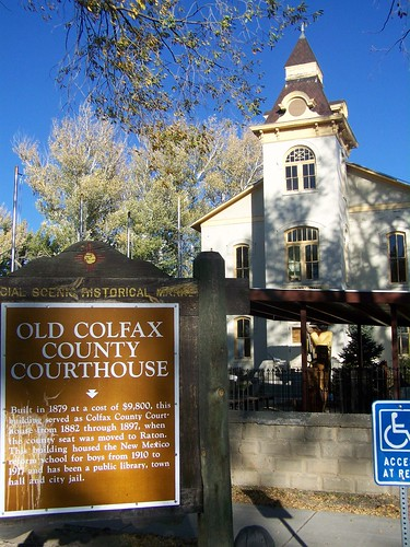 old Colfax County Courthouse- Springer NM (1) | by kevystew