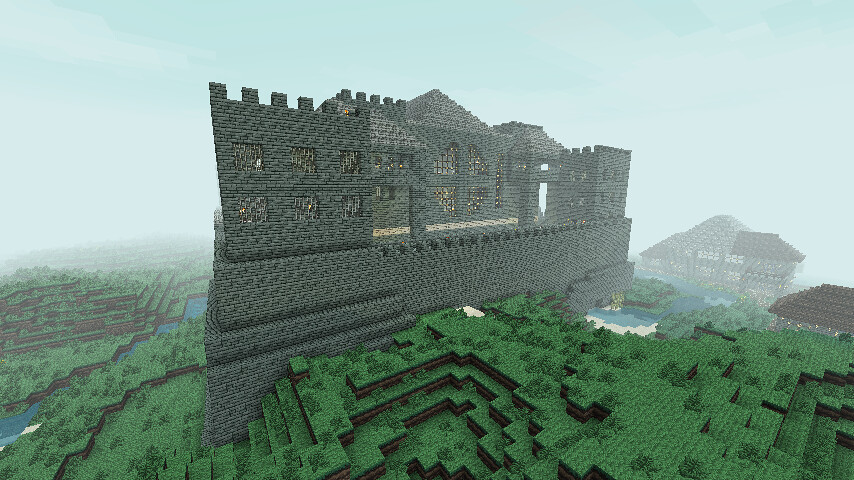 Temple Fortress In Minecraft This Incredibly Complex