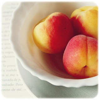 today: apricots and book | by healingmoments