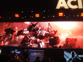 E3 Expo 2012 - Activision booth Transformers | by Doug Kline