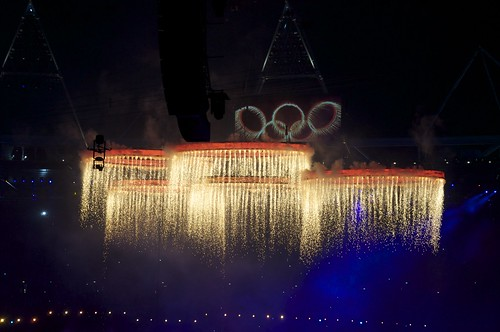 The Olympic Rings are forged | by Nick J Webb