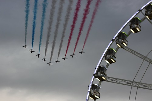 Red Arrows - Olympics Opening Ceremony | by Simon Wraight
