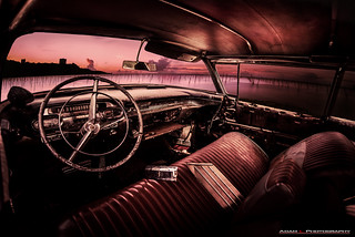 Rusty caddy sunset | by ADAM L Photography