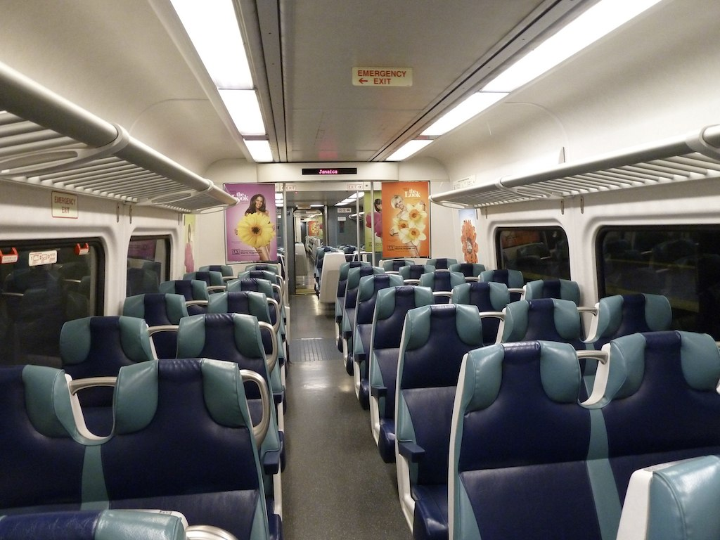 lirr train interior interior of an lirr train jonathan hazan flickr. Black Bedroom Furniture Sets. Home Design Ideas