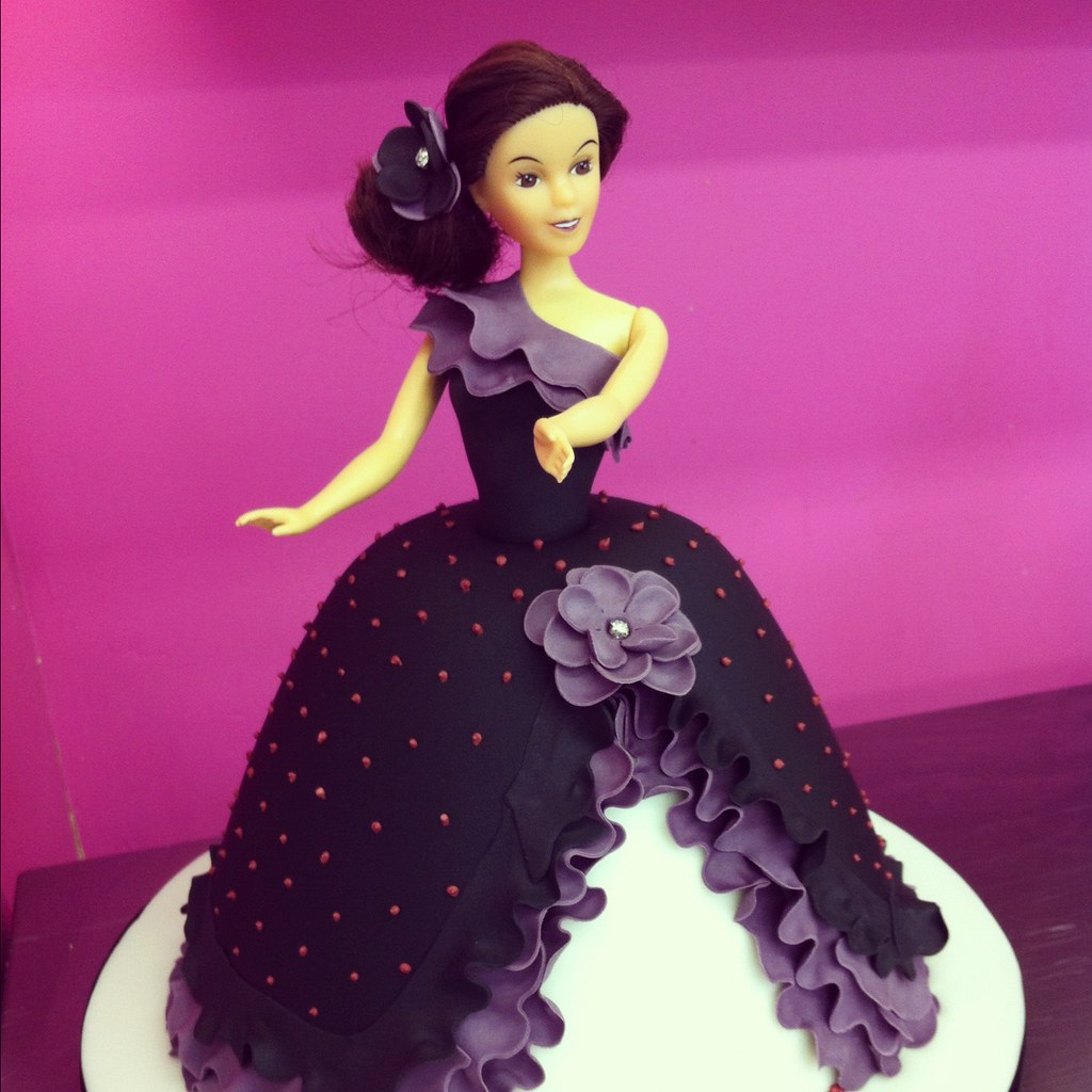 Barbie Doll Cake Barbie Doll Cake in a Flamenco style ...