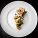 Shrimp, crispy masa, sea urchin mousse 09