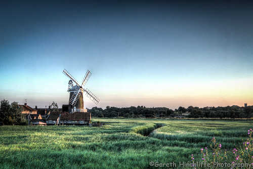 Cley Next The Sea Windmill 1 (Sunset) | by Gaz - (Gareth Hinchliffe Photography)