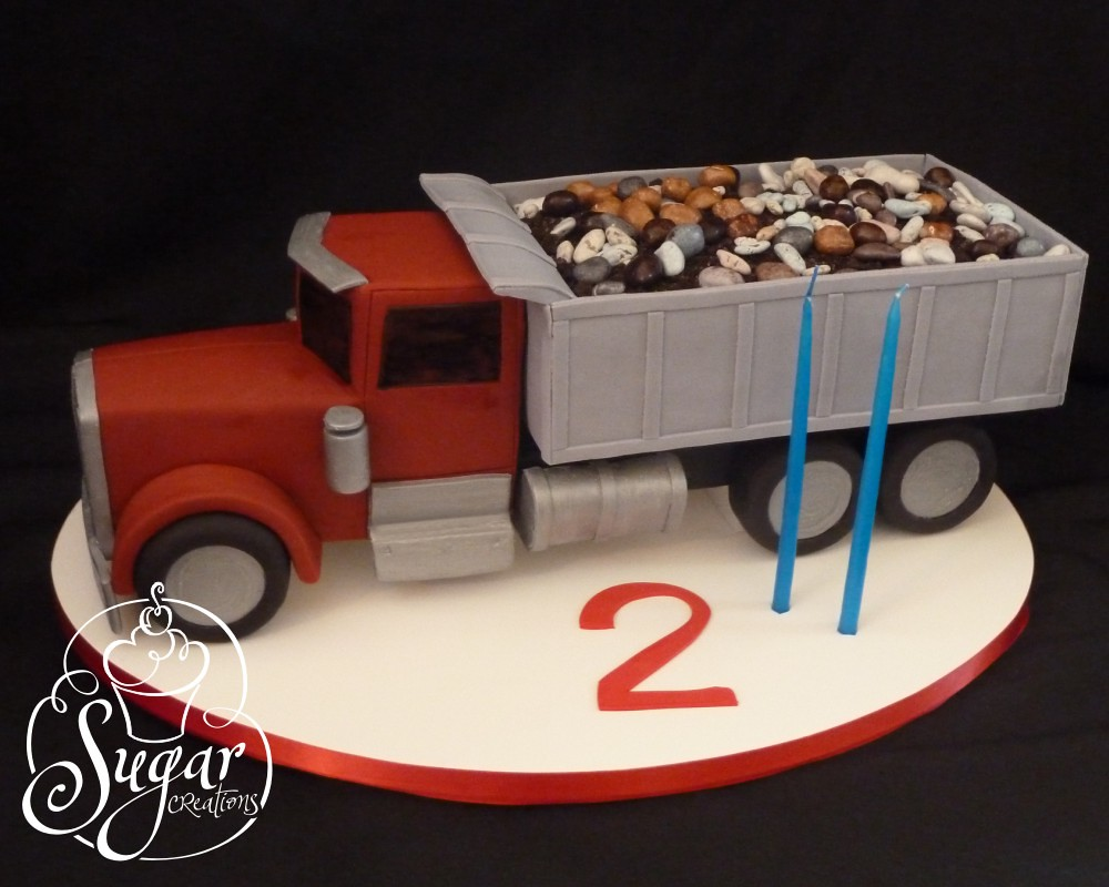 dump truck birthday cake this was smaller than it probably Flickr