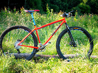 [On-One Inbred 29er] Big Bright Orange Oldschool Pleasure-Machine | by Olgierd Pstrykotwórca