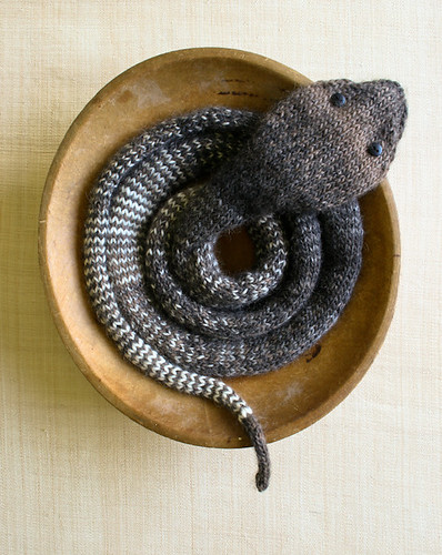 Laura's Loop: Striped Stockinette Snake | by the purl bee