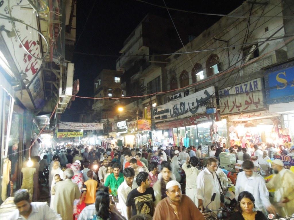 Eid shopping new anarkali lahore shiraz hassan flickr for Bano bazar anarkali lahore