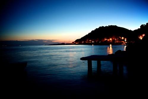 Éjszakai fények Splitben