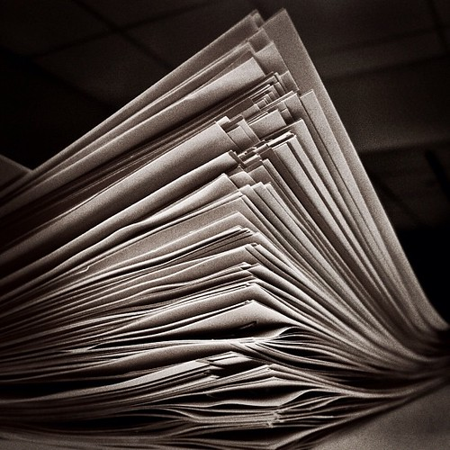 Stack of Papers | by jenni from the block