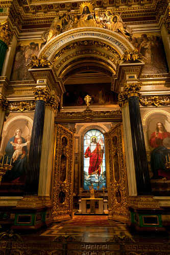 St.Isaac`s Cathedrals altar | by filchist