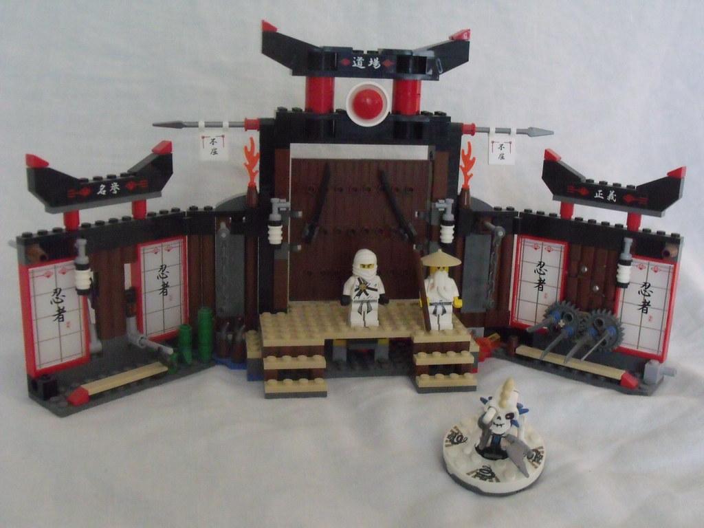 ma collection lego 014   2504 Lego ninjago le temple d\'entra…   Flickr
