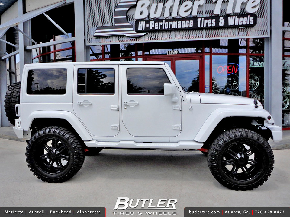 Jeep Wrangler with 22in RBP 97R Wheels and 37in Tires  Flickr