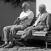 Two Men Waiting