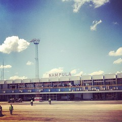Nampula airport #Mozambique #Africa