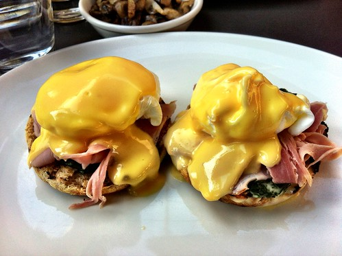 Eggs Benedict With Ham And Spinach At Speakeasy | by ultrakml