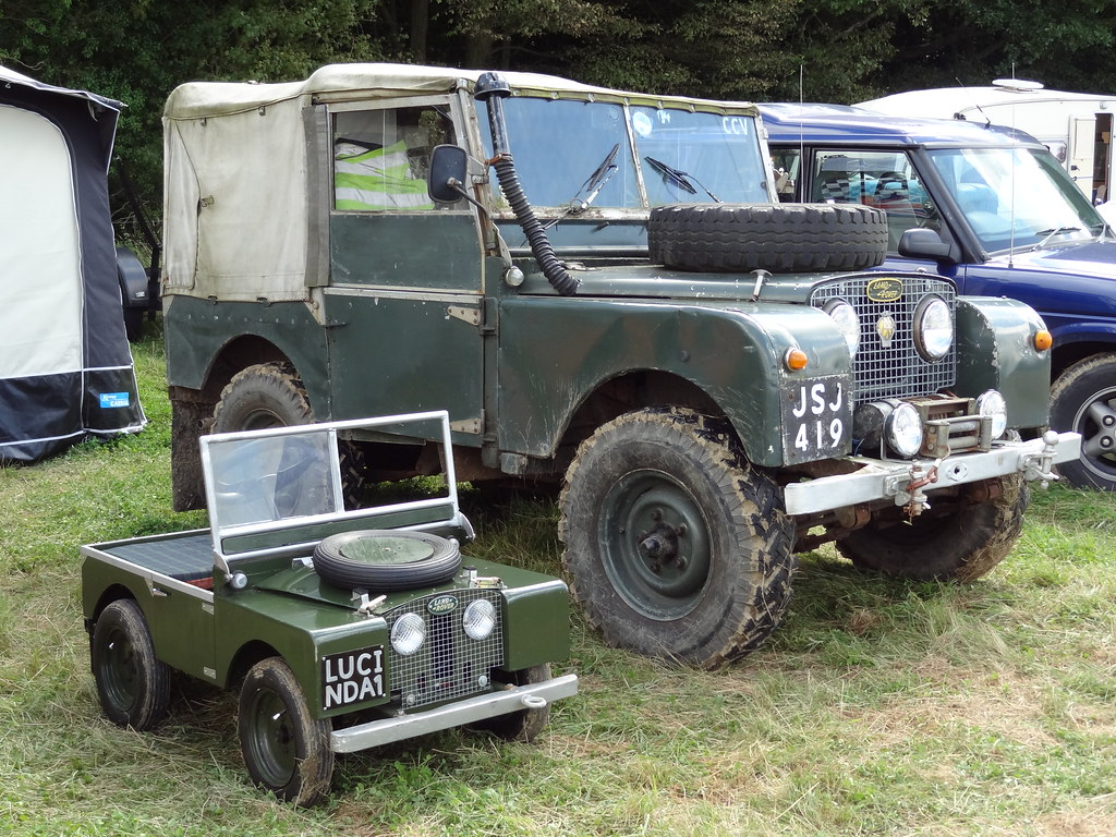 quotmini mequot said the land rover quotone day youll grow up to