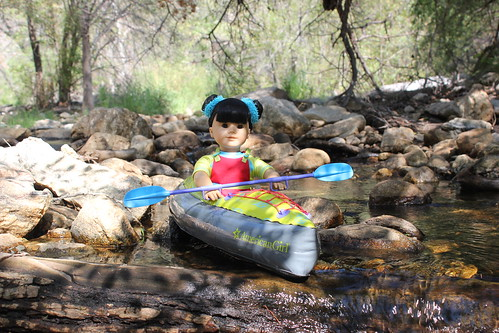 Kayaking in Sabino Canyon | by Inky & Coral