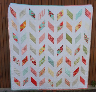 Chevron Quilt Front | by BendingPins